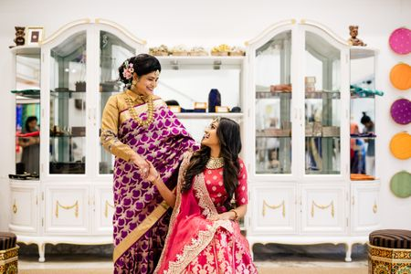 Mother's Day Special: A Stylish Mom & Daughter Duo At Sailesh Singhania's!