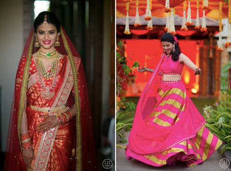Gorgeous Hyderabad Wedding With A Bride In Beautiful Kanjeevarams!