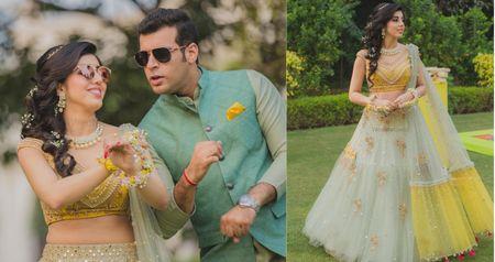 Dreamy Delhi Wedding For A Wedding Planner Bride!