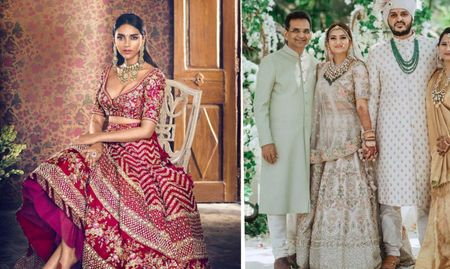 Five New Sabyasachi Lehengas We Spotted On Instagram That Are Perfect For A Summer Wedding!