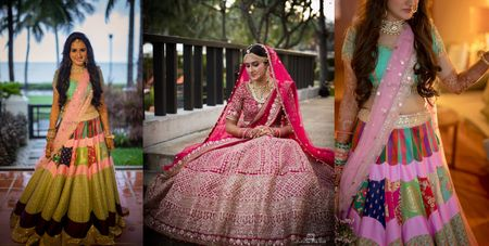 This Bride Pulled  Off Three Unique Theme Based Outfits At Her Wedding !