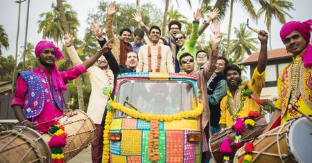 Make A Grand Entry With These 11 Quirky Groom Vehicle Options For Your Baraat!