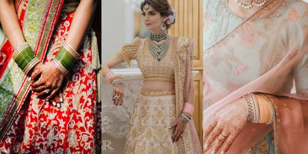 Hate Bold Choodas? New Alternatives For The Modern Bride (and No, They Are NOT Red!)
