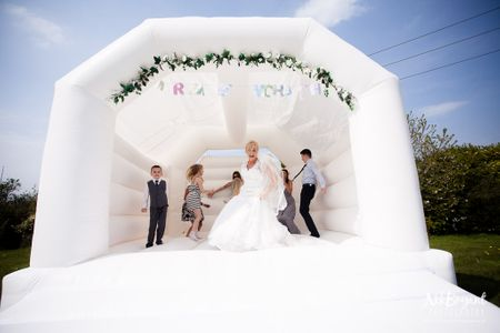 OMG! Bouncy Castles At Weddings Are Trending Abroad, & We Think It's Cute For The Mehendi!