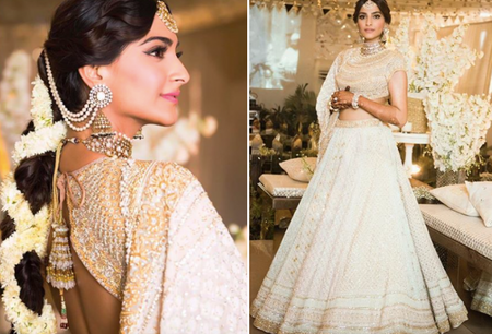 We Got The First Look At Sonam Kapoor's Mehendi And All The Details Are In! *Outfits & More