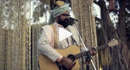 Watch How One Groom Sung His Bride's Bridal Entry Song Live As She Entered!