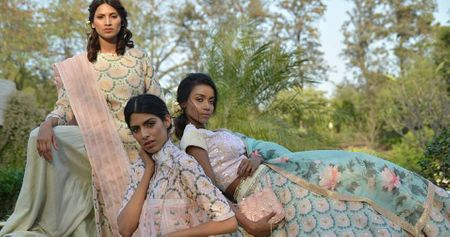 Three Amazing New Lookbooks For Your New Pastel Lehenga!