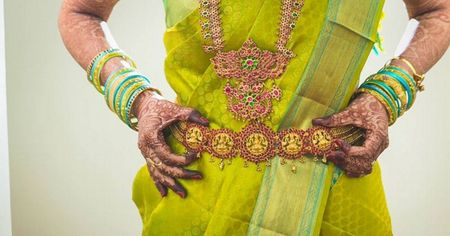 Most Interesting Belts We Saw On Real South Indian Brides!