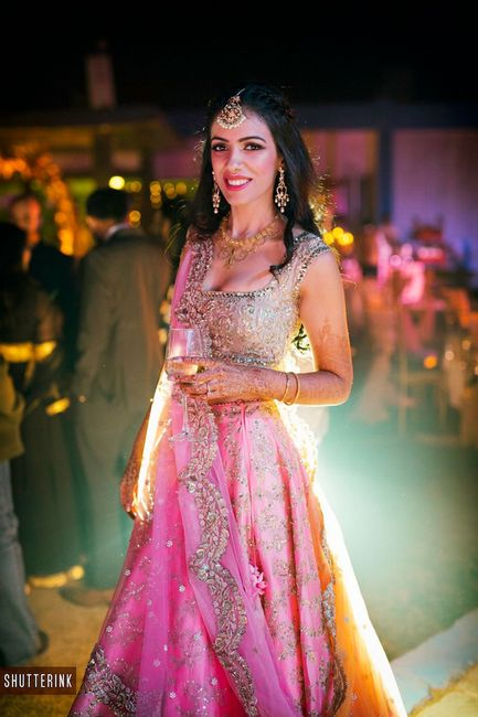 20+ Prettiest Anushree Reddy Lehengas We Spotted On Real Brides!