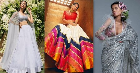 What's New In Designs And Ideas In Bridal Lehengas These Days!