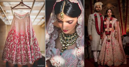 The Most Gorgeous Anamika Khanna Lehengas We Spotted On Real Brides