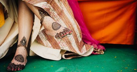 15+ Mehendi Designs For Your Feet: Designs, Ideas and More!