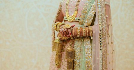 Pinterest-Worthy Delhi Wedding With A Guest List Of Just 20 People!