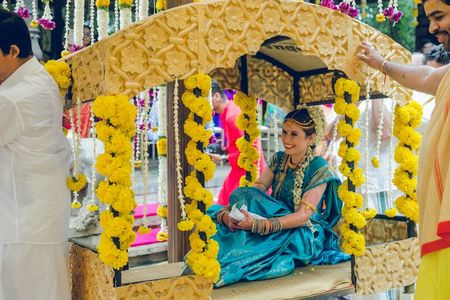 The Most Innovative South Indian Bridal Entries!