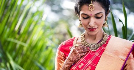 Best Pellikuturu Ceremony Saris We Found On Our WMG Brides!