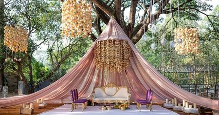 Tent Mandap In Your Wedding Decor. Is It A New Trend We Are Spotting?
