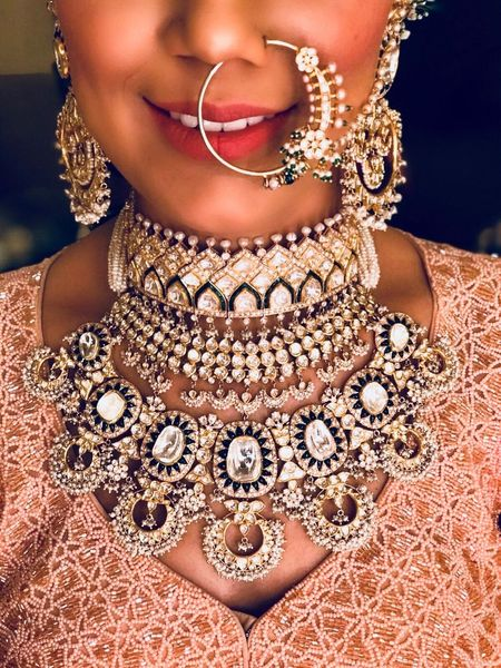 The Most Unique Necklaces We Saw On Real Brides!