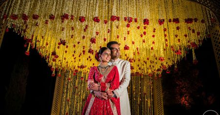 Sophisticated & Elegant Delhi Wedding With A Bride In Plum!