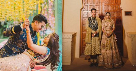 Glam Chandigarh Wedding With Unique Outfits & Fun Decor!