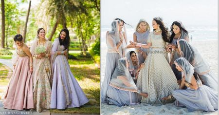 Real Weddings Where Bridesmaids Wore Interesting Things!