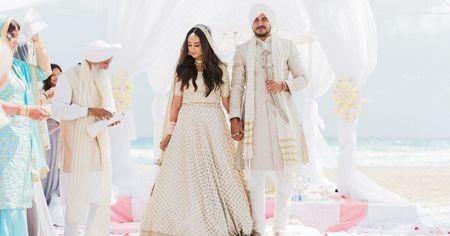 Destination Wedding In Mexico With A Bride In Dreamy White!