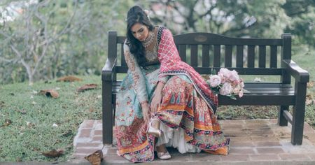 Sublime Indian Wedding In The Woods With A Dreamy Vibe!