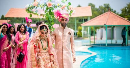 Pretty DIY Wedding In Bangalore With Lots Of Personalised Ideas!