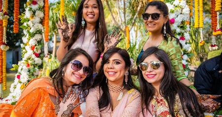 Stunning Delhi Wedding With A Bride In Fun Outfits!