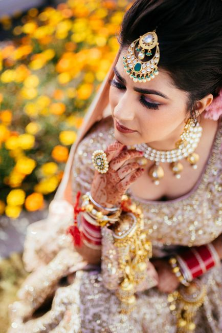 Picturesque Mussorie Wedding With A Pastel Bride & Gorgeous Decor!