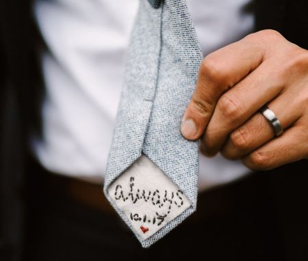 Stunning & Unique Accessories We Saw On Real Grooms!