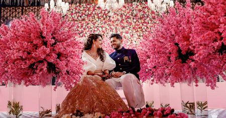 Gorgeous Pune Engagement With A Dash Of Whimsy!