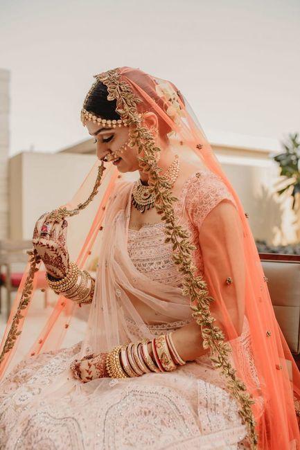 Unique Double Dupatta Colour Combinations We Saw On Real Brides!