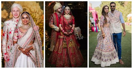8 Coordinated Bride & Groom Outfits That We Spotted on WMG!