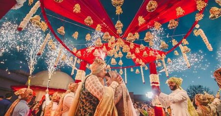 New Non-Floral Elements To Decorate Your Mandap With!