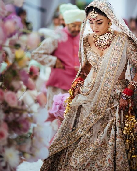 Sikh Brides Who Totally Rocked Pastel Outfits At Their Wedding!