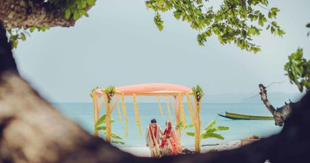 A Minimalist Wedding in Andaman Islands With Zero Guests in Attendance!