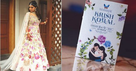 This Bride's Wedding Theme Was Inspired By Her Manish Malhotra Lehenga!