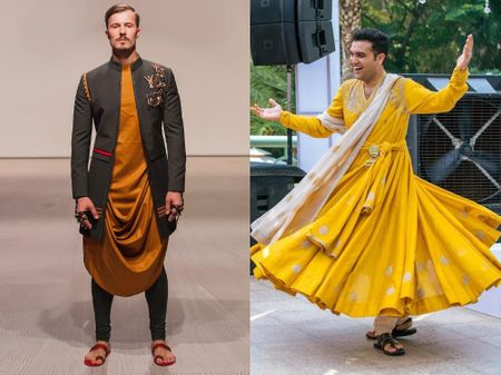 Groomwear Silhouettes That Are Not Your Usual Suits, Sherwanis Or Bandhgalas!