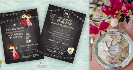 The Most Unique Invitations We Spotted Which Are Perfect To Take Inspiration From!