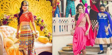 New & Trendy: 10+ Brides Who Wore Something Hatke On Their Mehendi!