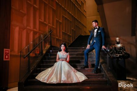 A Chic Delhi Wedding With Gorgeous Floral Decor And A Bride In Stunning Outfits