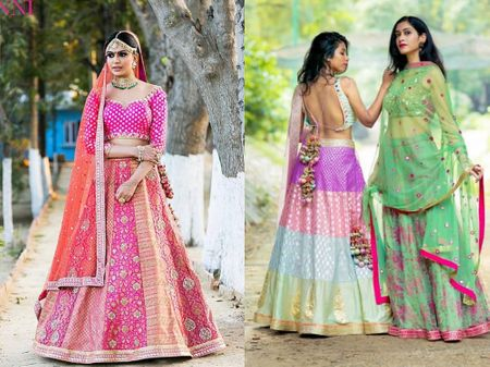 15+ Designers & Stores To Consider For A Bridal Lehenga In A Budget Of 50K!