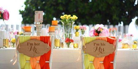 The Cutest Couple Chair Ideas For The Bride & Groom!