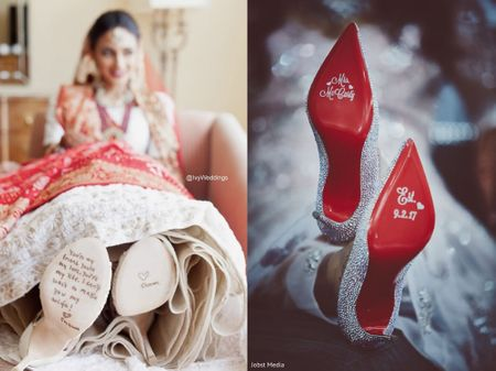 From 'Pataka Dulhan' to 'Wifey for Lifey', We Have These Shoe-Adorable Ideas For Brides-to-be!