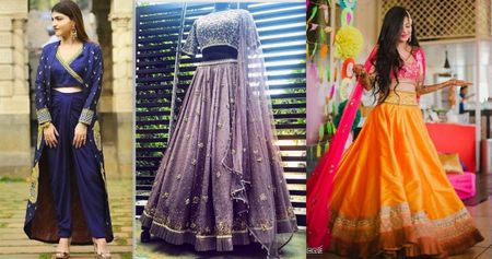 We Took 40K To 6 Different Labels To Find A Mehendi Outfit, & Here's What We Got!