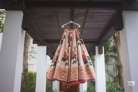 9 WMG Brides Who Decked Up Simple Offbeat Lehengas To Make Them Bridal! *& How They Did It!