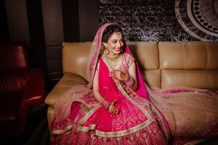 A Gorgeous Lucknow Wedding With A Bride In A Rani Pink Lehenga