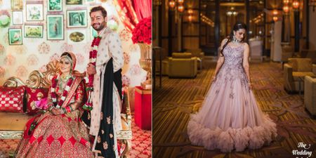 A Grand Mumbai Wedding With A Bride In Stunning Outfits