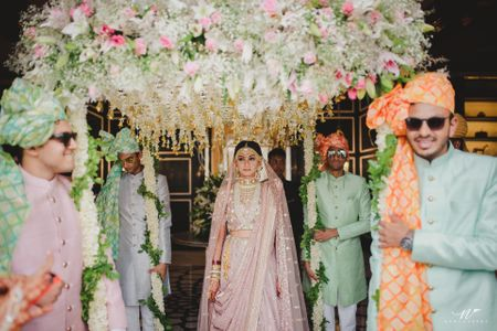 The Newest Phoolon Ka Chadar Ideas For Your 2019 Wedding!