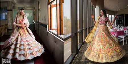 A Delhi Wedding With Our Bride In A Custom Lehenga!